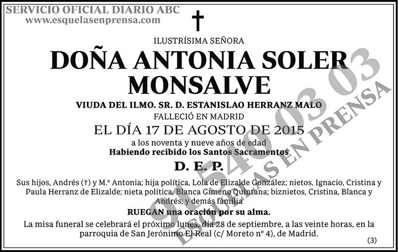 Antonia Soler Monsalve
